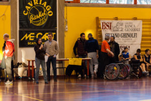basket senza barriere Cavriago