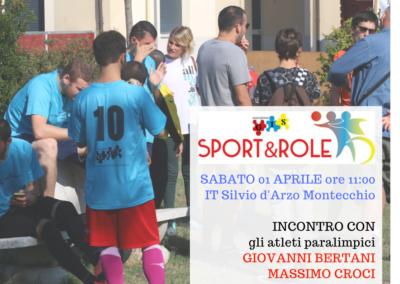 Sport&Role 2017: ad ognuno il suo ruolo