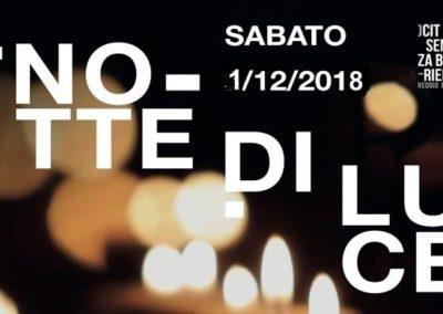 Notte di Luce 2018 a Reggio Emilia e Sant'Ilario d'Enza